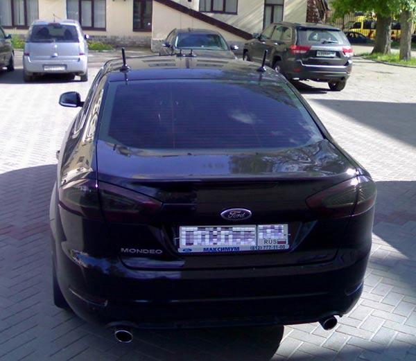 14 - Антенны на автомобилях гибдд