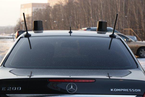 16 - Антенны на автомобилях гибдд