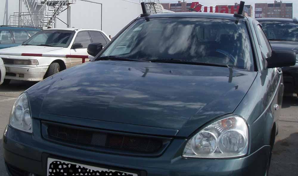 19 - Антенны на автомобилях гибдд
