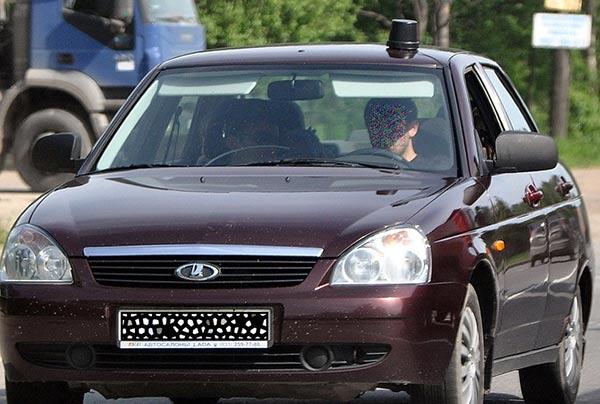 21 - Антенны на автомобилях гибдд