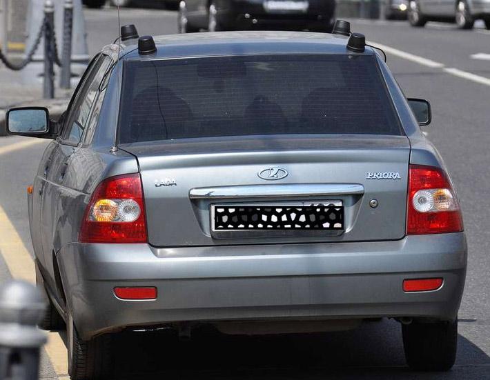 23 - Антенны на автомобилях гибдд