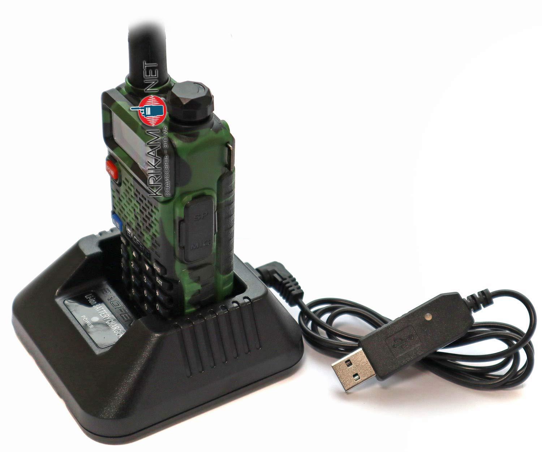 USB-зарядка для рации Baofeng UV-5R