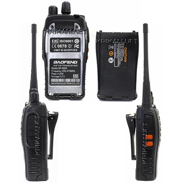 Портативная радиостанция Baofeng BF-888S - купить, 980 руб