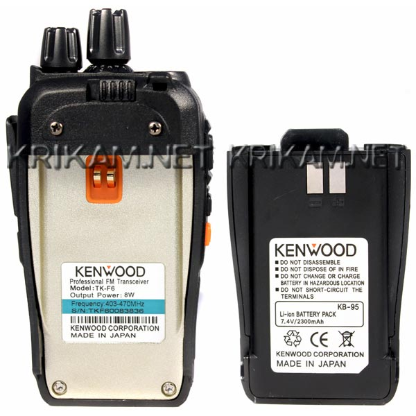 Kenwood TK-F6 New Dual Band 8 Вт. Фото N3