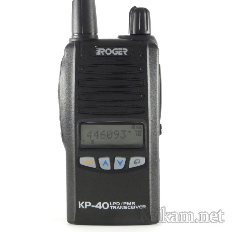 рация roger kp-40 инструкция