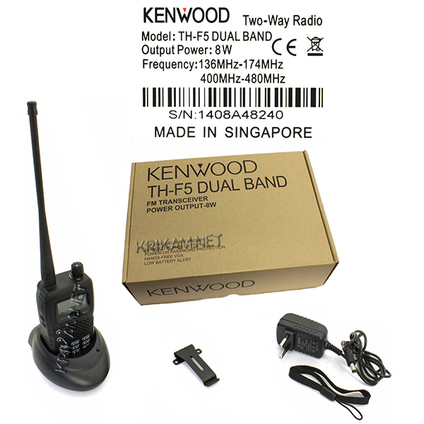 Kenwood TH-F5 Turbo Dual Band. Фото N4