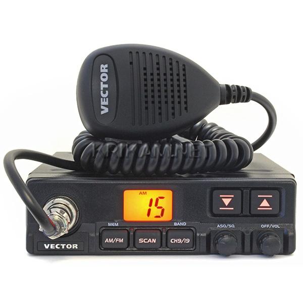 радиостанция вектор инструкция радиус действия