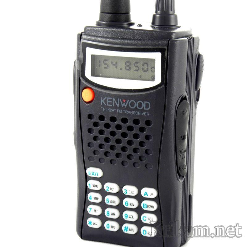 Носимая радиостанция Kenwood TH-K4AT MAX 7W, до 7 Вт, 400 ...