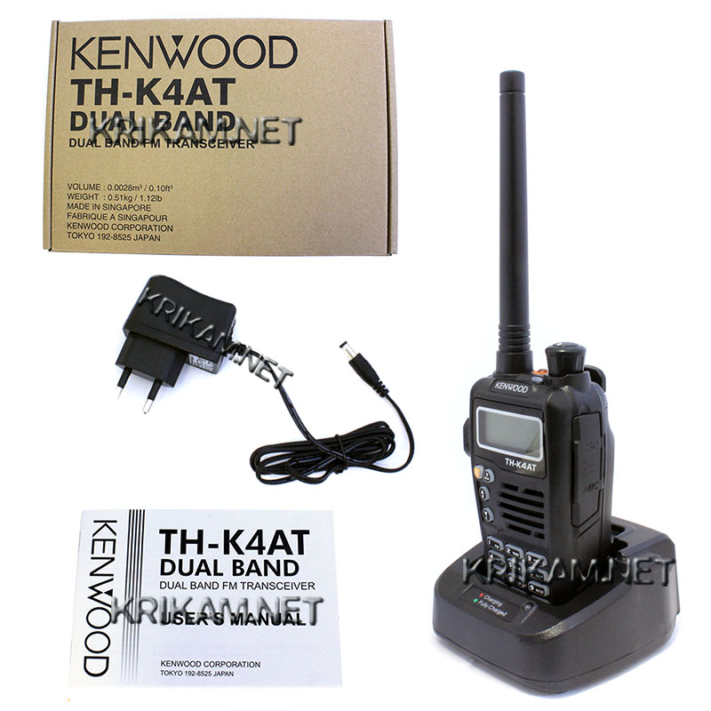 Kenwood TH-K4AT Dual Band. Фото N4
