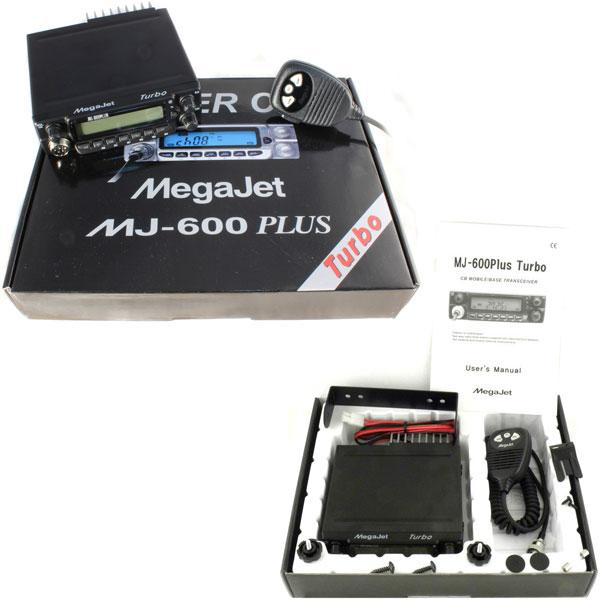 Megajet mj-600 plus turbo автомобильная радиостанция купить.