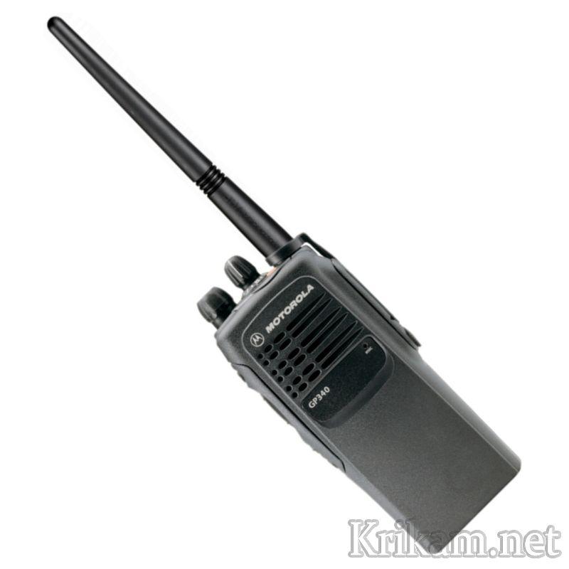 Радиостанция Motorola GP340  краткий обзор